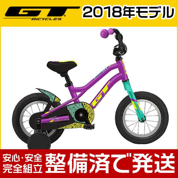 """GT(ジーティー) 2018年モデル SIREN 12""""/サイレン 12""""【12インチ】【子供用自転車/キッズバイク】【2017年継続モデル】"""