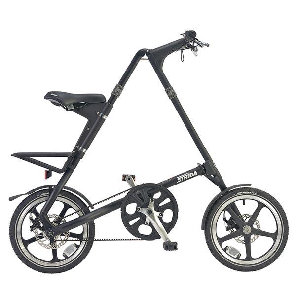 STRiDA LT マットブラック 2019年モデル 折りたたみ自転車