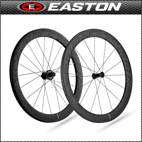 EASTON(イーストン) EC90 AERO 55 チューブラーホイール リア【700C】【ロード用】【カーボン】【ホイール】【自転車用】