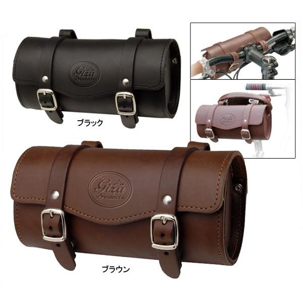 GP(ギザプロダクツ) レザー サドルバッグ/Leather Saddle Bag [BAG285]【サドル/フロントバッグ】【GIZA PRODUCTS】