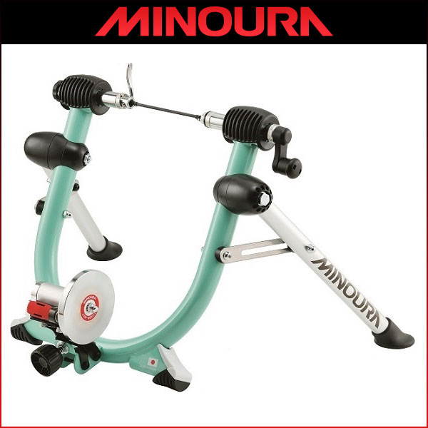 MINOURA(ミノウラ) Quattro-C Celeste/クワトロ チェレステ 限定カラー 【サイクルトレーナー】【負荷装置】【固定ローラー】