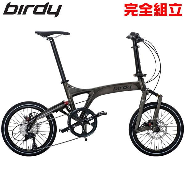 birdyバーディーbirdyStandardグラファイト折りたたみ自転車