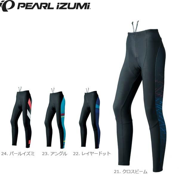 PEARL IZUMI パールイズミ W997-3DNP プリントタイツ 2018秋冬 女性用