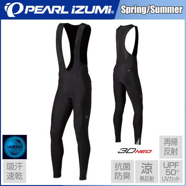 パールイズミ 2018 春夏モデル コールドブラック ビブ タイツ[T228-3D]【2018年春夏カタログ掲載モデル】【PEARL IZUMI】