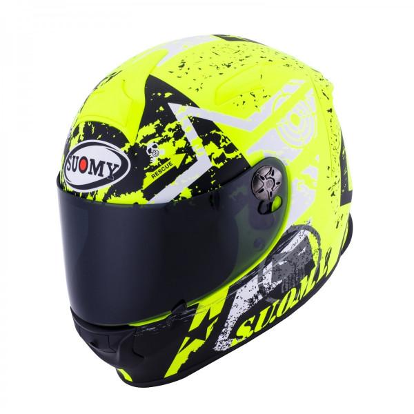 【返品・サイズ交換不可!!】日本特別仕様 SUOMY SSR0024 SR-SPORTヘルメット STARS イエロー 【スオーミー スターズ】 SGマーク 公道走行OK【smtb-k】