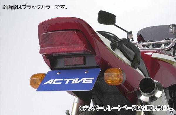 ACTIVE #1157007 フェンダーレスキット【カラー:シルバー】【純正ナンバー灯使用】【KAWASAKI ZRX1200 ('01-'08)】【KAWASAKI ZRX1100 ('97-'00)】