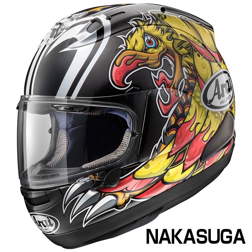 Arai PB-SNC2 RX-7X ヘルメット NAKASUGA【ナカスガ】【アライ バイク用 フルフェイスヘルメット RX7X】【smtb-k】