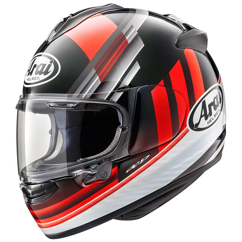 Arai VECTOR-X GUARD ヘルメット RED【ガード レッド】【アライ フルフェイスヘルメット ベクターX バイク用】【smtb-k】