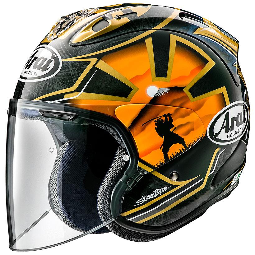 Arai VZ-RAM ヘルメット SAMURAI【VZラム サムライ】【アライ バイク用 ジェットヘルメット】