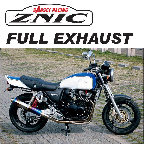ZNIC #0-22-SZFS01TI チタンサイレンサーフルエキゾースト (排ガス検査証明書付き) IMPULSE400('05年式以降-)【ジニック】