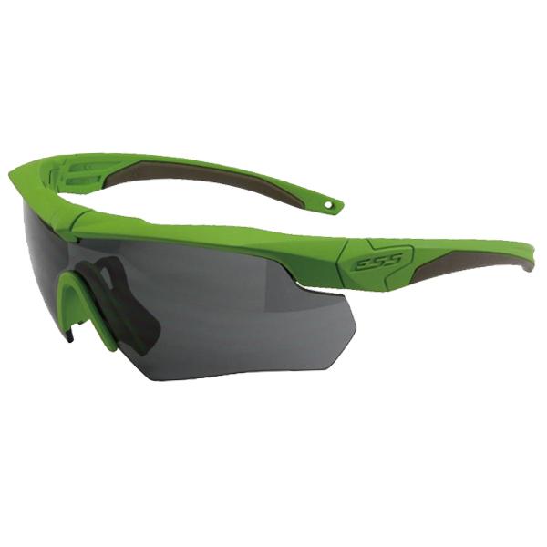 ESS #740-1007 CROSSBOW CERAKOTE ZOMBIE GREEN 【ゾンビグリーン】【付属レンズ:スモークグレー】【ゴーグル/サングラス】【smtb-k】7月販売予定