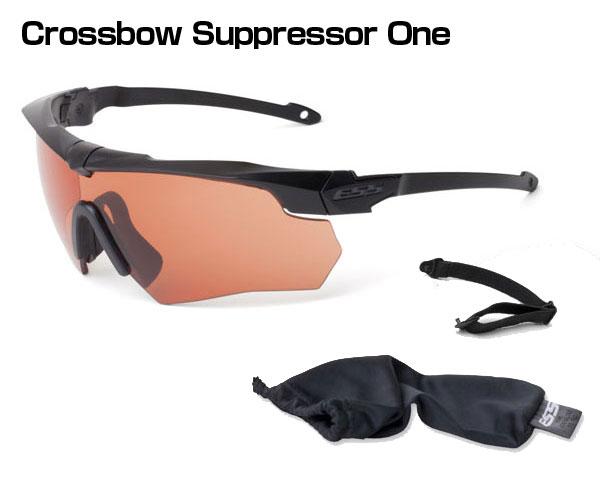 ESS #740-0472 Crossbow Suppressor One【ハイデフカッパーレンズ】【ゴーグル/サングラス】