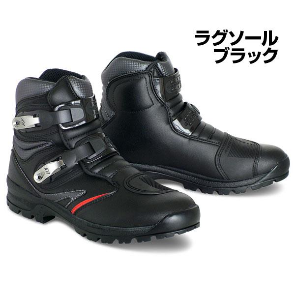 GAERNE #2393-001 ToughGear ライディングシューズ ラグソールタイプ【カラー:ブラック】【ガエルネ タフギア バイク用 ブーツ】【smtb-k】