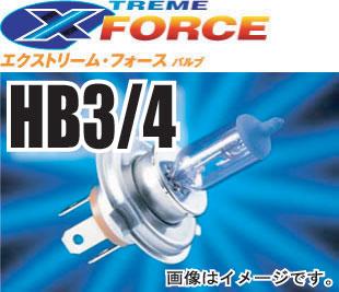 PIAA HB3/HB4 ヘッドライトバルブ(1個入) エクストリームFORCE #MB46【定格出力12V55Wを110W相当の明るさに】【ピア 二輪自動車用ヘッドライトバルブ】