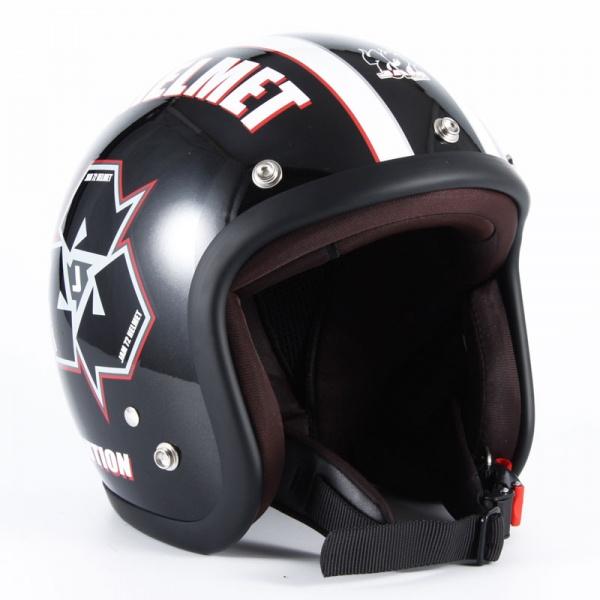 72JAM JJ-03 ジェットヘルメット SPIKE【ブラック】