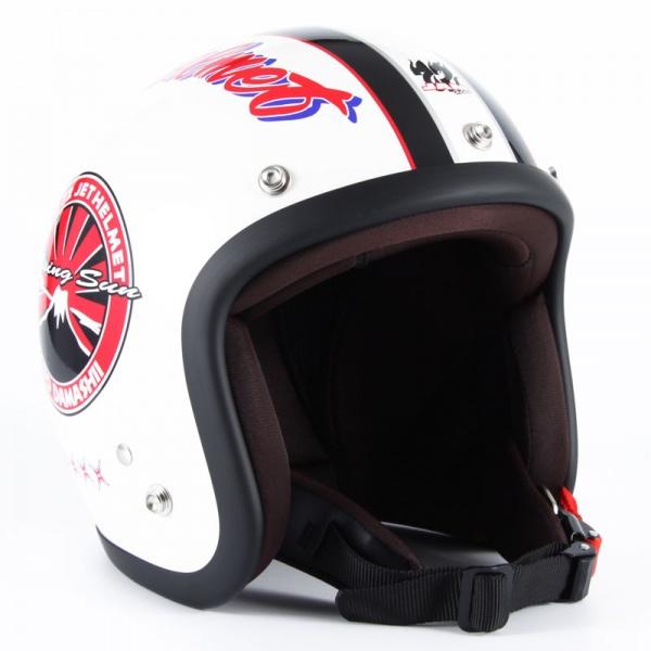 72JAM JJ-05 ジェットヘルメット J&A【ホワイト】
