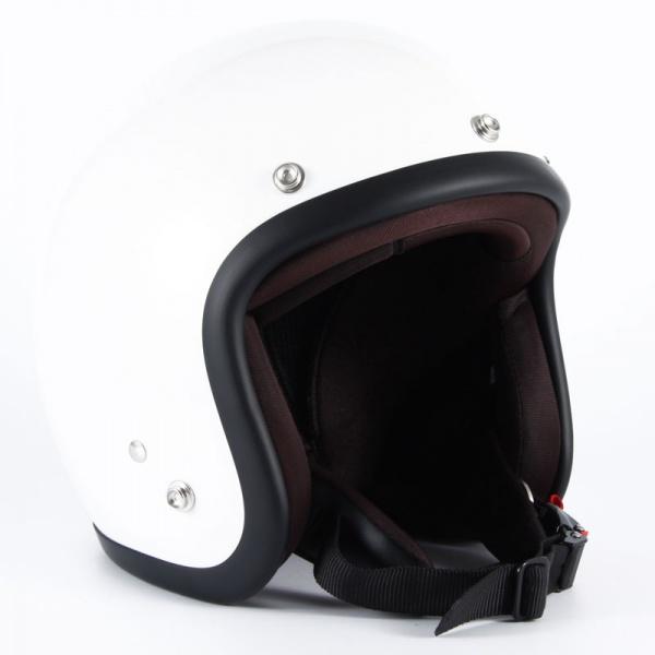 72JAM JJ-09 ジェットヘルメット 【PEARL GOLD WHITE】
