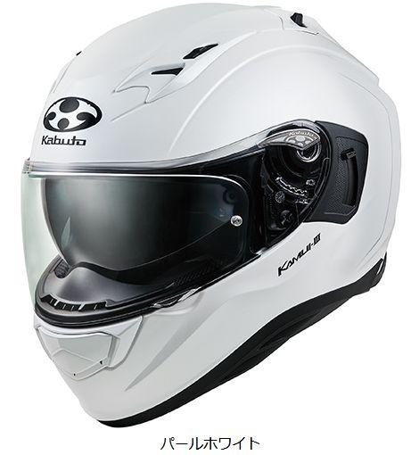 OGKカブト KAMUI-3 ヘルメット【パールホワイト】【オージーケーカブト バイク用 フルフェイスヘルメット カムイ3】【smtb-k】