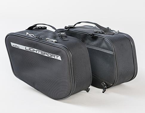 MOTOFizz MFK-262 ライトスポルトサイドバッグ【ブラック】【モトフィズ サイドバッグ】【smtb-k】