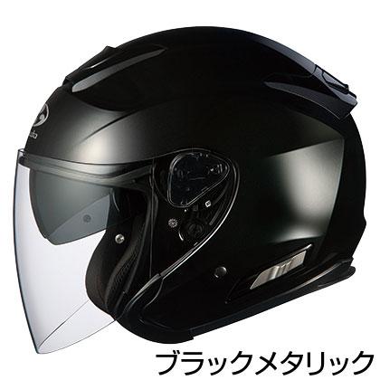 OGKカブト ASAGI ヘルメット 【ブラックメタリック】【オージーケーカブト バイク用 ジェットヘルメット アサギ 】【smtb-k】