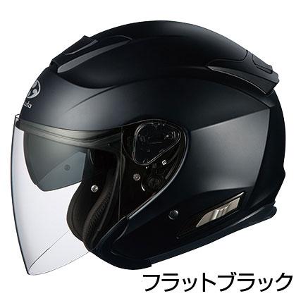 OGKカブト ASAGI ヘルメット 【フラットブラック(つや消しカラー)】【オージーケーカブト バイク用 ジェットヘルメット アサギ 】【smtb-k】
