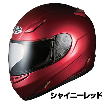 OGKカブト FF-R3 ヘルメット【シャイニーレッド】【オージーケーカブト バイク用 フルフェイスヘルメット FFR3】【smtb-k】