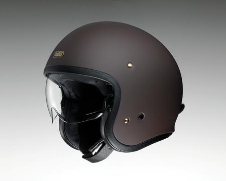 SHOEI J・O ヘルメット【マットブラウン】【ショウエイ バイク用 ジェイ・オー ジェットヘルメット ショーエイ】