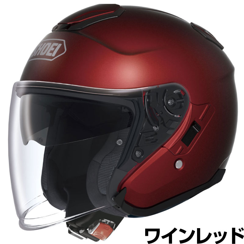 SHOEI J-CRUISE ヘルメット【ワインレッド】【ショウエイ バイク用 ジェットヘルメット ショーエイ Jクルーズ】【smtb-k】