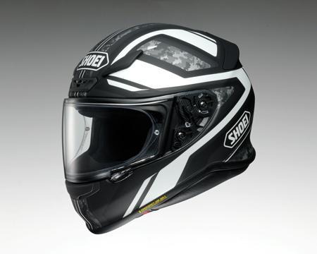SHOEI Z-7 ヘルメット PARAMETER TC-5【パラメーター ホワイトXブラック】※マットカラー【ショウエイ Z7 バイク用 フルフェイスヘルメット】【smtb-k】