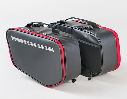 MOTOFizz MFK-263 ライトスポルトサイドバッグ【レッド】【モトフィズ サイドバッグ】【smtb-k】