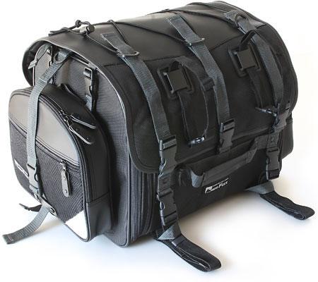 MOTOFizz MFK-101 フィールドシートバッグ ブラック【モトフィズ バイク用 リアバッグ】【smtb-k】