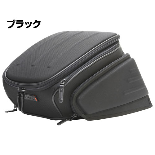 MOTOFizz MFK-142 エアロシートバッグ2【ブラック】【モトフィズ バッグ MFK142】【smtb-k】