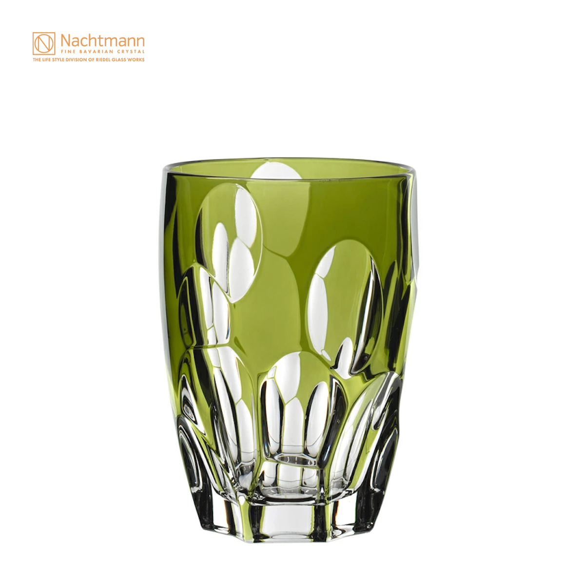 【ナハトマン公式】<プレッジオーソ> タンブラー グリーン(1個入)95684【ラッピング無料】Nachtmann タンブラー 緑 翠 Green 宝石