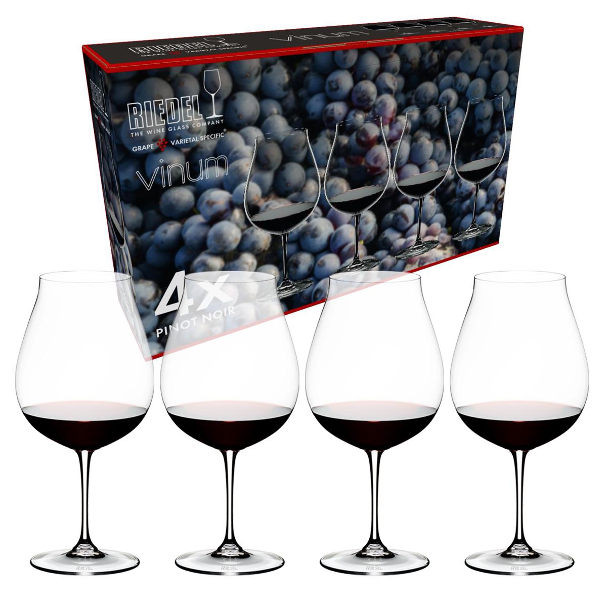 【リーデル公式】<ヴィノム> ピノ・ノワール(4個入)5416/67-1【ラッピング無料】RIEDEL 赤ワイングラス