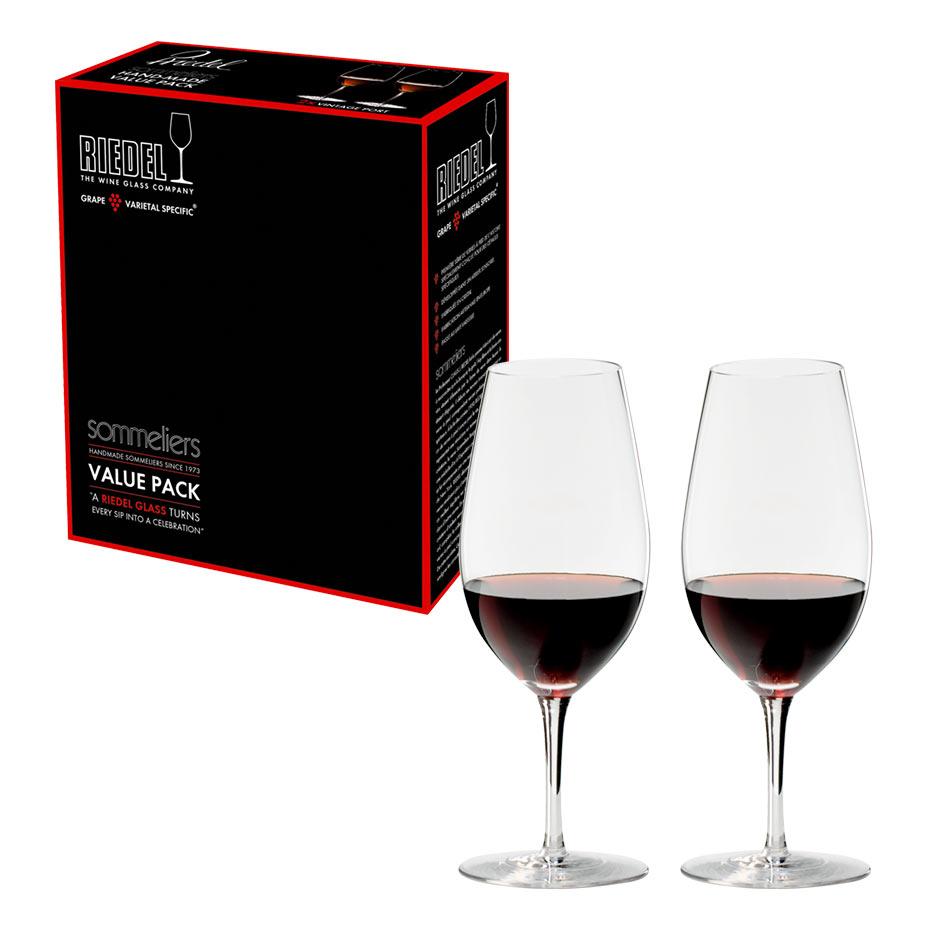 【リーデル公式】<ソムリエ> バリューパック ヴィンテージ・ポート(2個入)2440/60【ラッピング無料】RIEDEL ワイングラス ハンドメイド マディラ 酒精強化ワイン