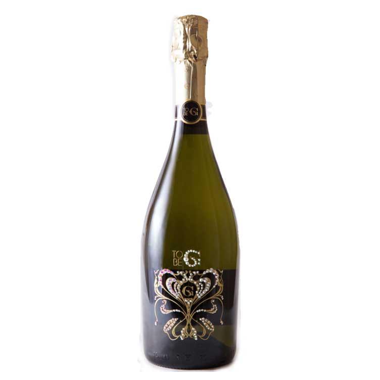 グッチオ・グッチプロデュース TO BE G Gioia CRYSTAL [スパークリングワイン] トゥービージー ジオイア クリスタル 750ml正規品 箱付き