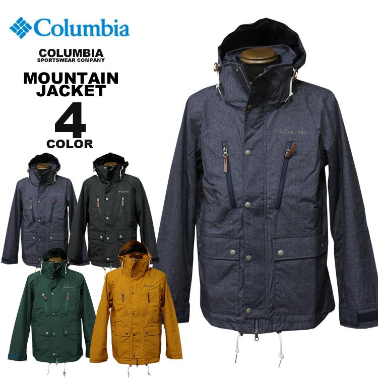 コロンビア スポーツウェア Columbia ジャケット BEAVER CREEK MOUNTAIN JACKET ビーバークリーク マウンテンジャケット 全4色 S-XXL メンズ レディース