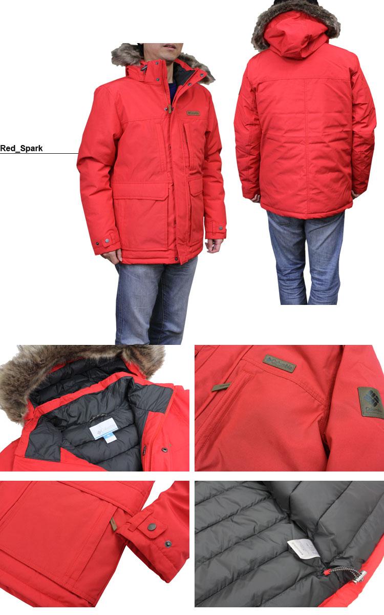 All three colors of Columbian sportswear Columbia batting jacket MARQUAM PEAK INSULATED JACKET S XXL men