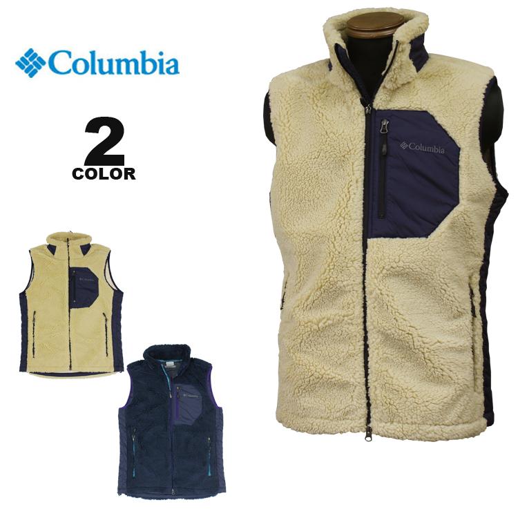 コロンビア スポーツウェア ベスト Columbia ARCHER RIDGE FLEECE VEST アーチャーリッジ フリース 全2色 S-XL メンズ