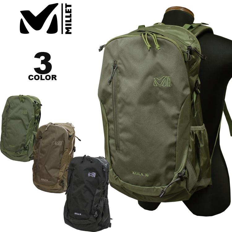 ミレー MILLET バックパック KULA 30 BACK PACK クーラ 30L リュック 全3色 メンズ レディース