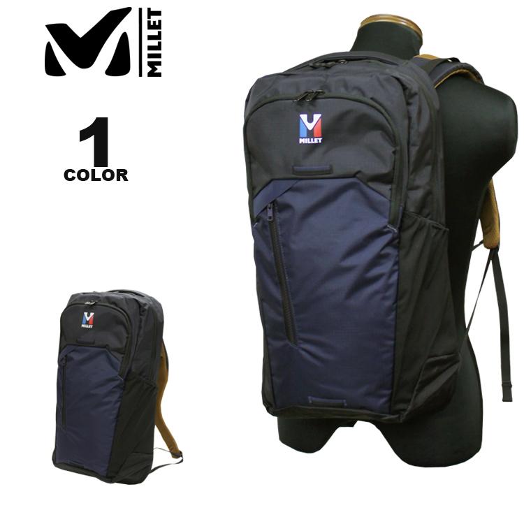 ミレー MILLET バックパック 8 SEVEN 25 BACK PACK セブン 25L リュック ブラック 黒 メンズ レディース