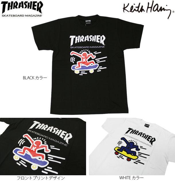 THRASHER/Keith Haring MAG LOGO T-SHIRTS 2