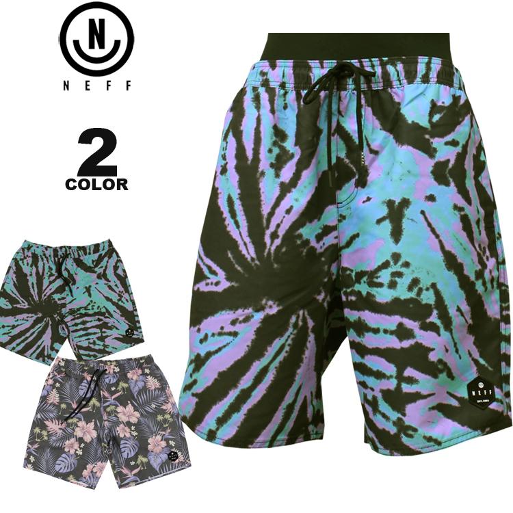 ネフ NEFF ショーツ DAILY HOT TUB SHORTS メンズ ハーフパンツ ショートパンツ 全2色 M-XL