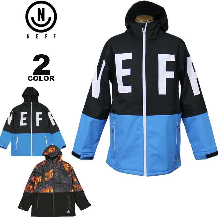 ネフ ジャケット NEFF DAILY SOFTSHELL JACKET ソフトシェル スキー スノーボード ウェア メンズ 全2色 M-XL