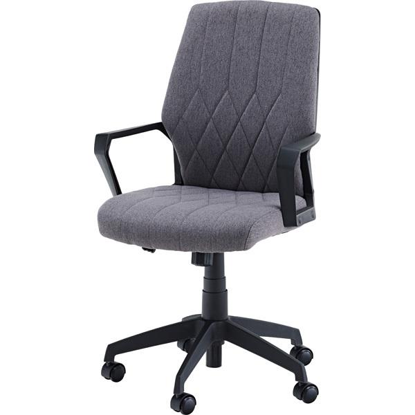 オフィスチェア チェア 椅子 パソコンチェア ワークチェア ゲーミングチェア 回転式 肘付き 背もたれ おすすめ イス 高さ調整 キャスター付き オフィス 学習 リモートワーク グレー OFC-30GY