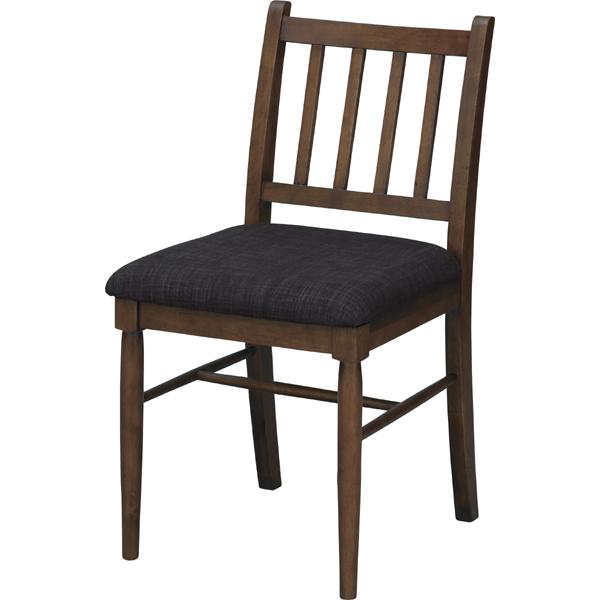 天然木で出来た コンパクト設計のウッドチェア ダイニングチェア 天然木 椅子 イス おしゃれ 高級な お洒落 ウッド 本物 NET-830CBR 木製 食卓椅子 シンプル ブラウン リビングチェア