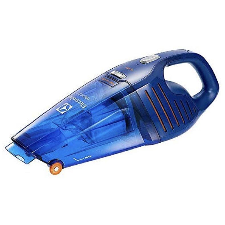 ハンディクリーナー エレクトロラックス ZB5104WD ディープブルー ラピード 乾湿両用タイプ 独自のフロントホイール搭載 ウェットアンドドライ 新品 送料無料