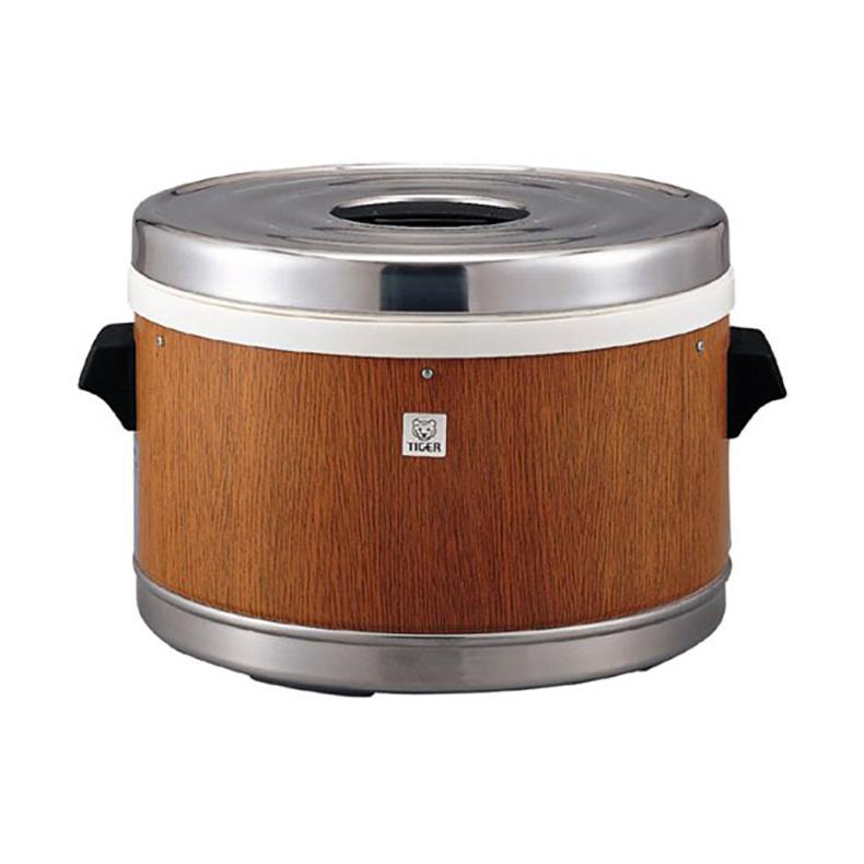 炊飯器 ステンレスジャー タイガー TIGER JFM-5700 jfm-5700 木目 3升2合 業務用 硬質 ウレタンフォーム 断熱材 保温 モリブデン 鋼使用 新品 送料無料