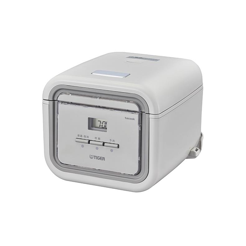 マイコン炊飯ジャー 炊飯器 タイガー TIGER JAJ-G550 jaj-g550 アッシュグレー 3合炊き 炊きたて tacook 同時調理 冷凍ご飯 エコ炊き 新品 送料無料