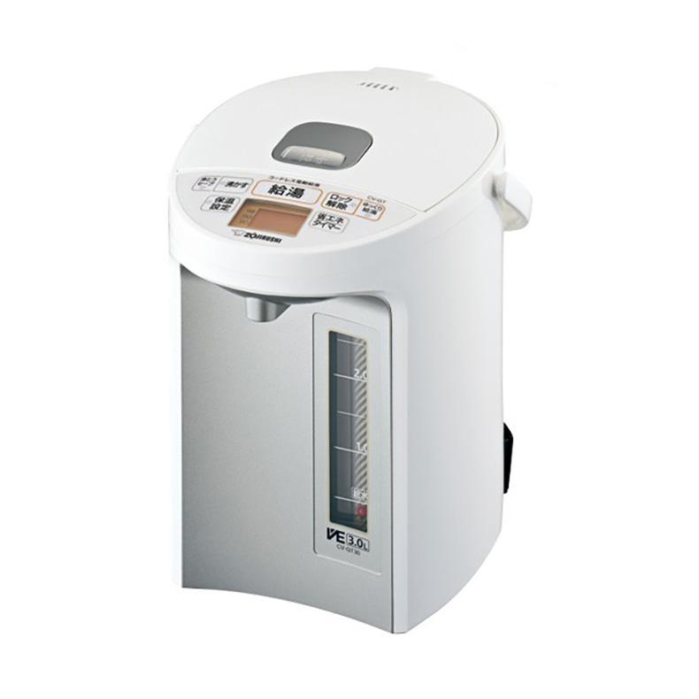電気ポット マイコン沸とうVE電気まほうびん 象印 ZOJIRUSHI CV-GT30-WA cv-gt30-wa ホワイト 3.0L 優湯生 ゆうとうせい まほうびん保温 新品 送料無料
